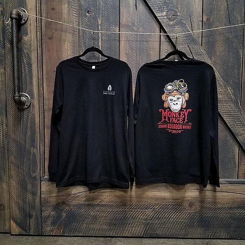 Monkey Face Unisex Long Sleeve Shirt