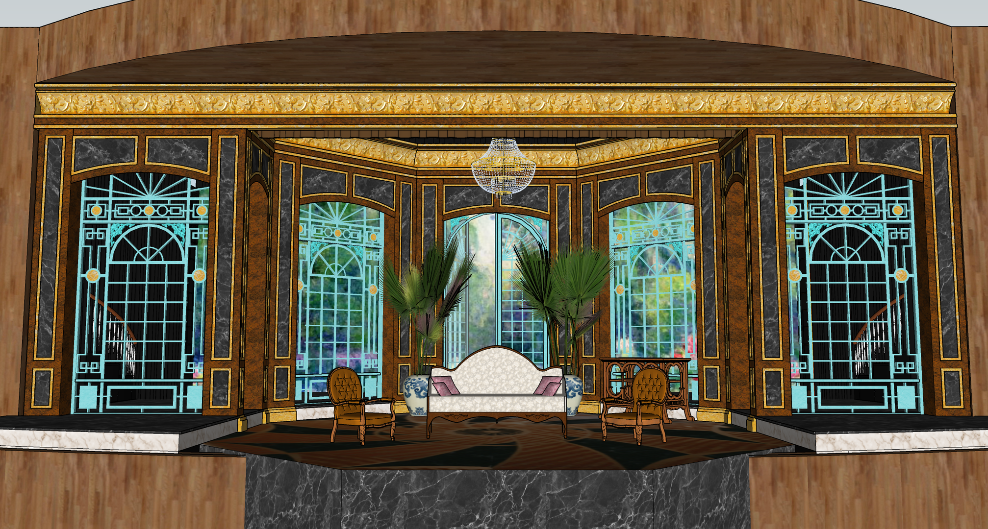 Scenic Design Preview: Act Two