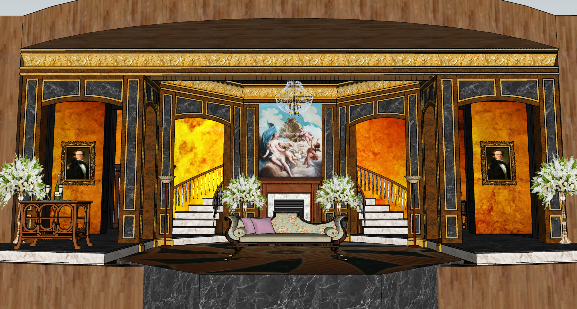Scenic Design Preview: Act One