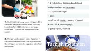 Turkish Menemen Recipe