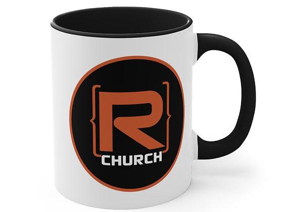 R-Church 11oz. Accent Coffee Mug