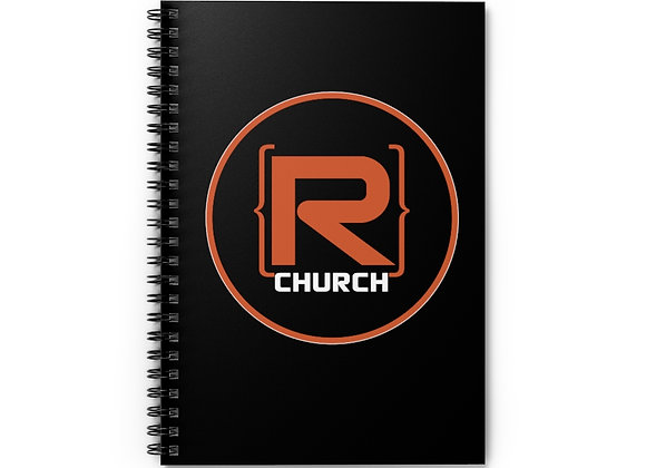 R-Church Spiral Notebook - Ruled Line
