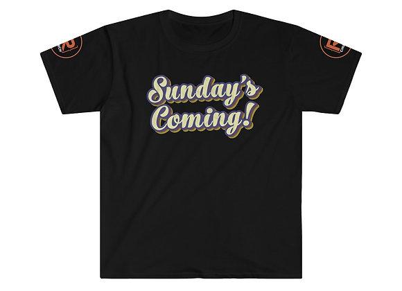Retro Sunday's Coming Soft Style T-Shirt
