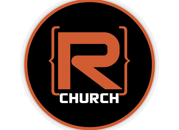 R-Church Sticker