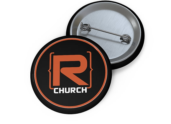 R-Church Pin Button