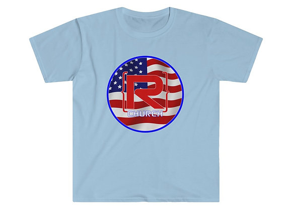 4th of July Soft Style Tee