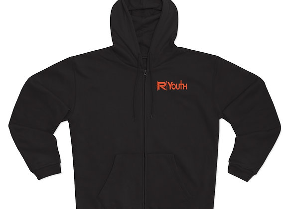 R-Youth Hooded Zip Sweatshirt