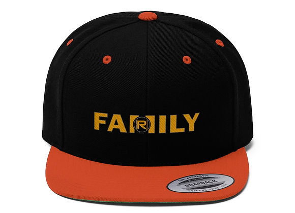 R-Family Flat Bill Hat