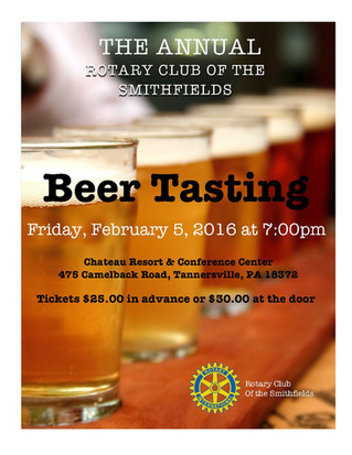 Beer Tasting - Fourth Annual, Winter 2016