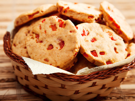 Sweet Pepper Biscuits