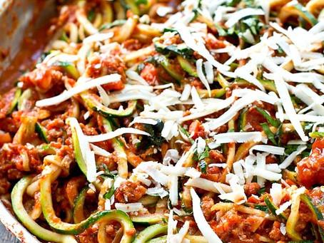 Vegetable Bolognese – Variation