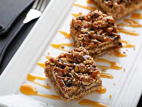 Chocolate Pecan Carmel Bars