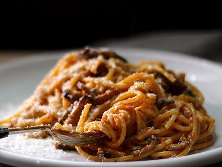 Spicy Mushroom Pasta