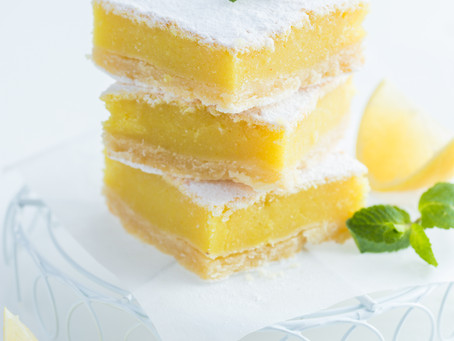 Lemon Shortbread Bars