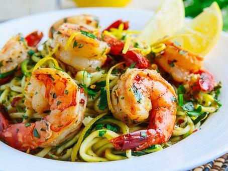 Blacken Shrimp Pasta
