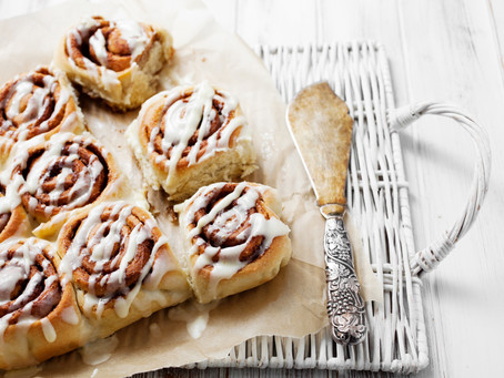 Chocolate Hazel Nut Cinnamon Rolls