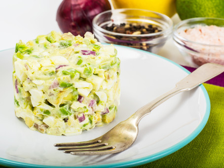 Avocado Parsnip Potato Salad
