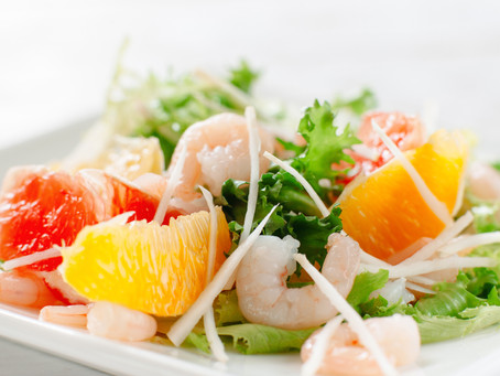 Shrimp Orange Salad