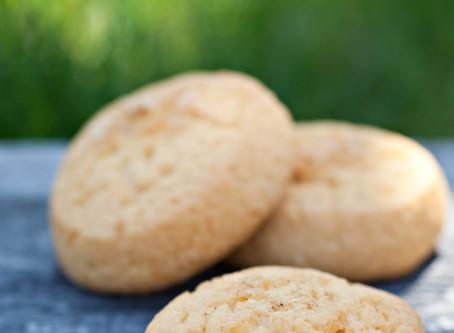 Smoked Cheddar Shortbread Cookies - KETO