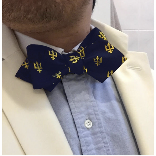 Mariners Trident Bow Tie