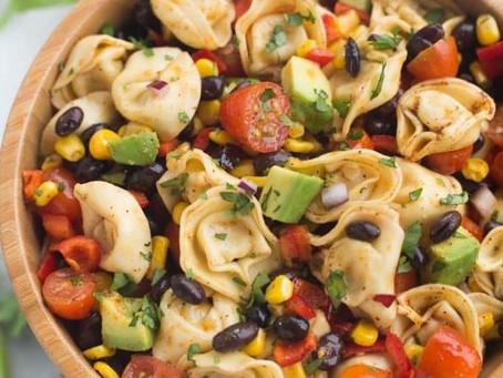 Spicy Tortellini Pasta Salad