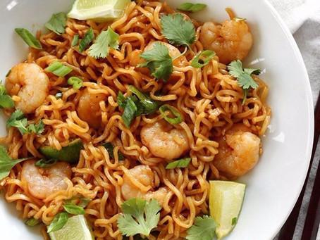 Spicy Shrimp & Ramen