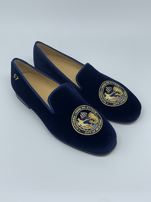 Mariners Lodge Tuxedo Slippers