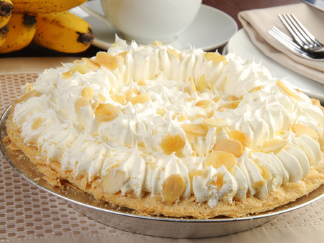 Banana Cream Pie, two variations