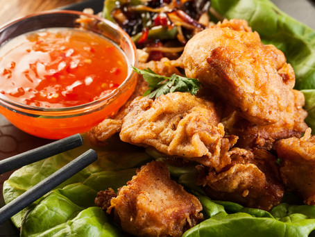 Smoky, Spicy, Sweet Fried Chicken