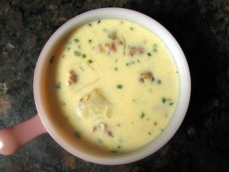 Chunky Potato Soup with Sausage