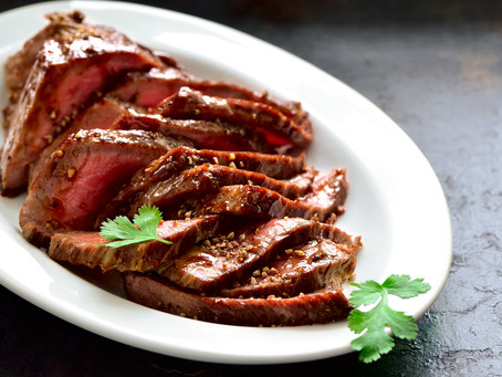 Spicy Grilled Flank Steak