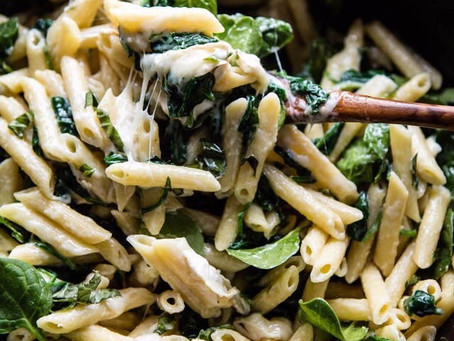 Brie Spinach Pasta