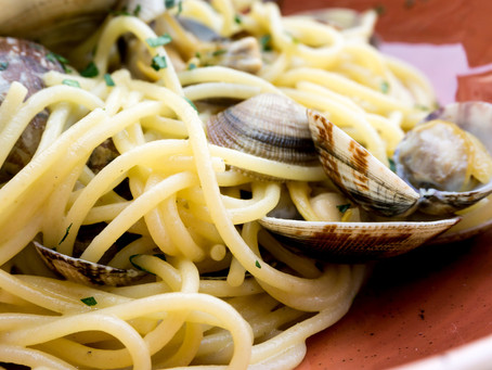 Pasta with Clams & Shallots - Variation