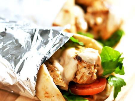 Chicken Flatbread Sandwiches