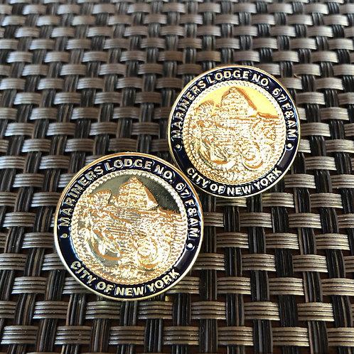 Mariners Lodge Seal Pin