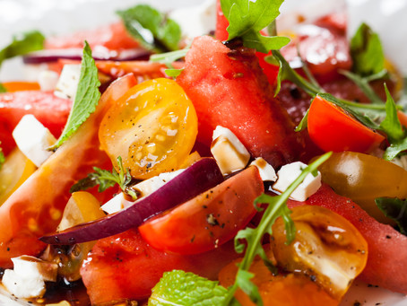 Tomato Watermelon Salad - New variation