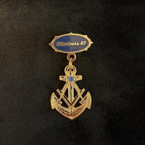 Mariners Degree Pin - Master Mason