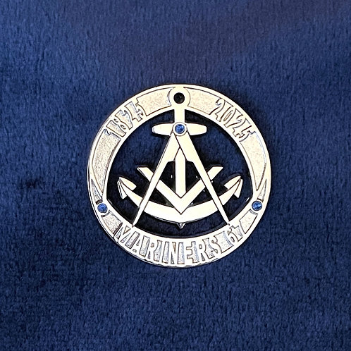 Mariners Lodge 200th Anniversary Pin - Limited Edition