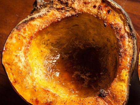 Spicy Roasted Acorn Squash