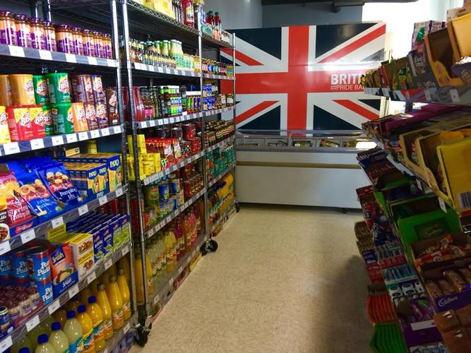 Burlington imported British Groceries