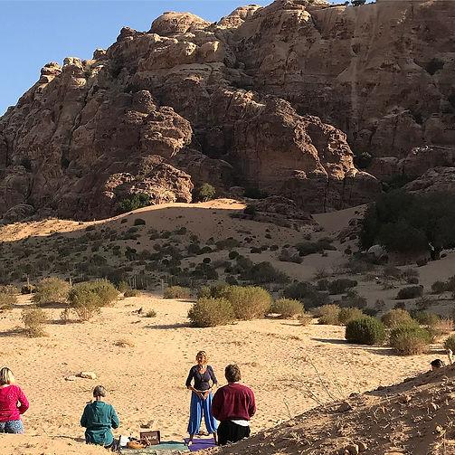 Morning Practice, Wadi al Amti