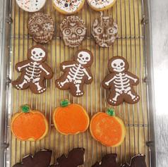 Halloween Cookie Varieties