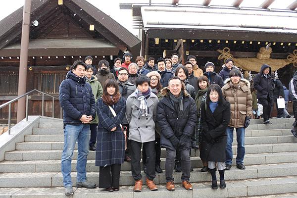 初詣(札幌)