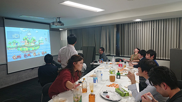 経営会議後の懇親会(東京)