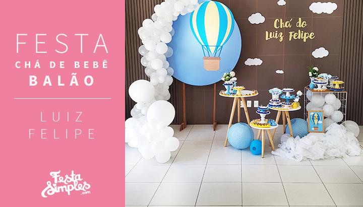 Festa Chá de Bebê Balão