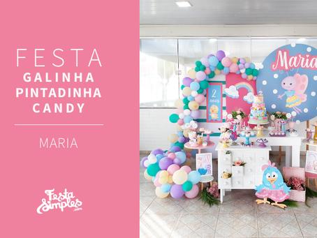 Festa Galinha Pintadinha candy