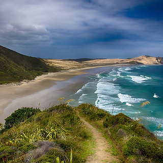 Trail from Cape Reinga to Te Werahi
