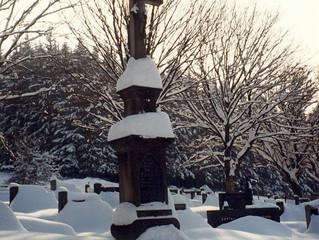 Plánovaná údržba hrobu