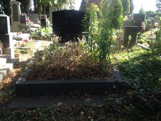 Krásný hrob na dušičky
