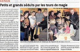Le Bien Public le 07/01/14